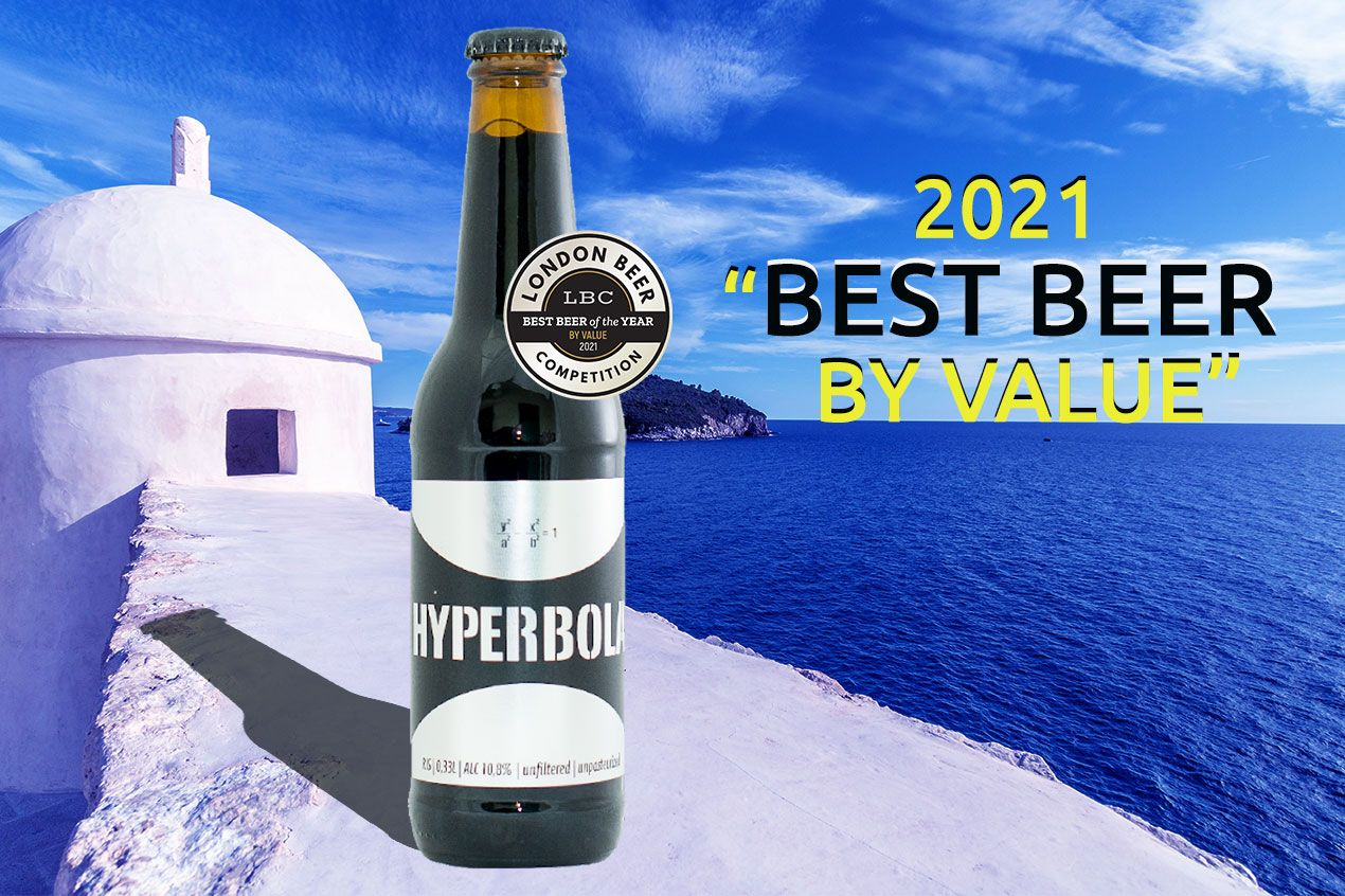 Photo for: Hyperbola wins Best Beer by Value at London Beer Competition