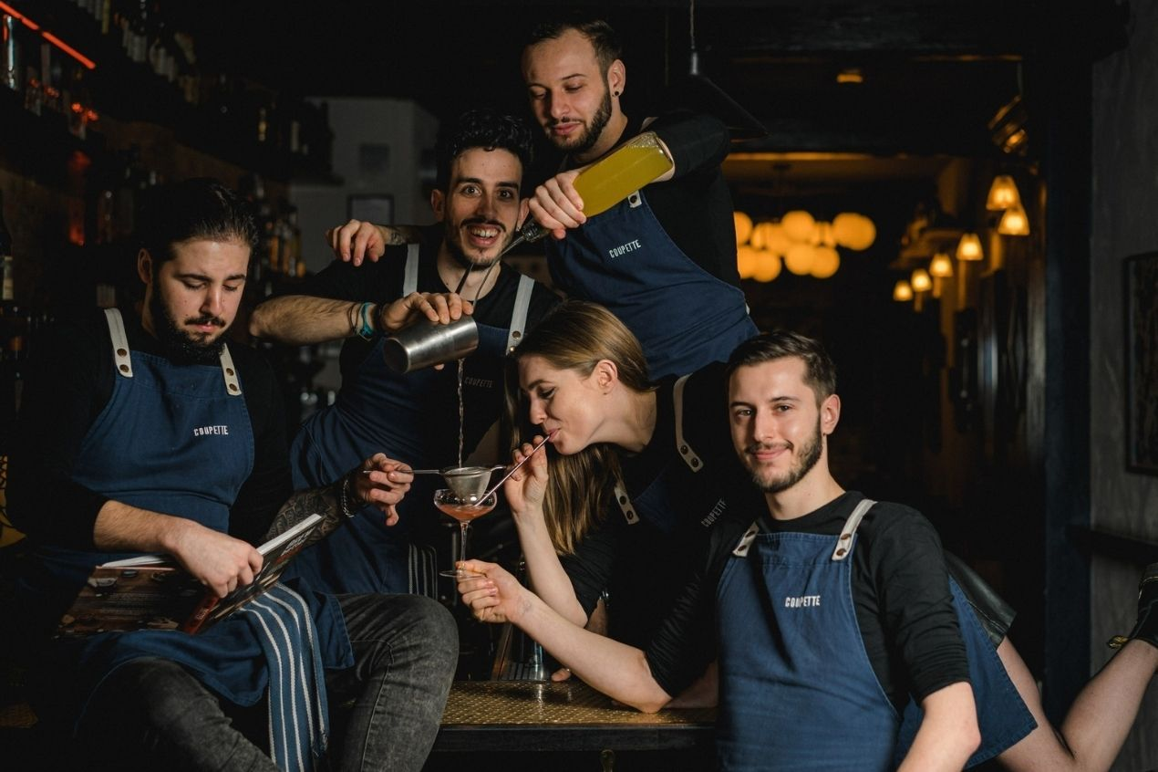 Photo for: Bethnal Green's favorite cocktail spot - Coupette
