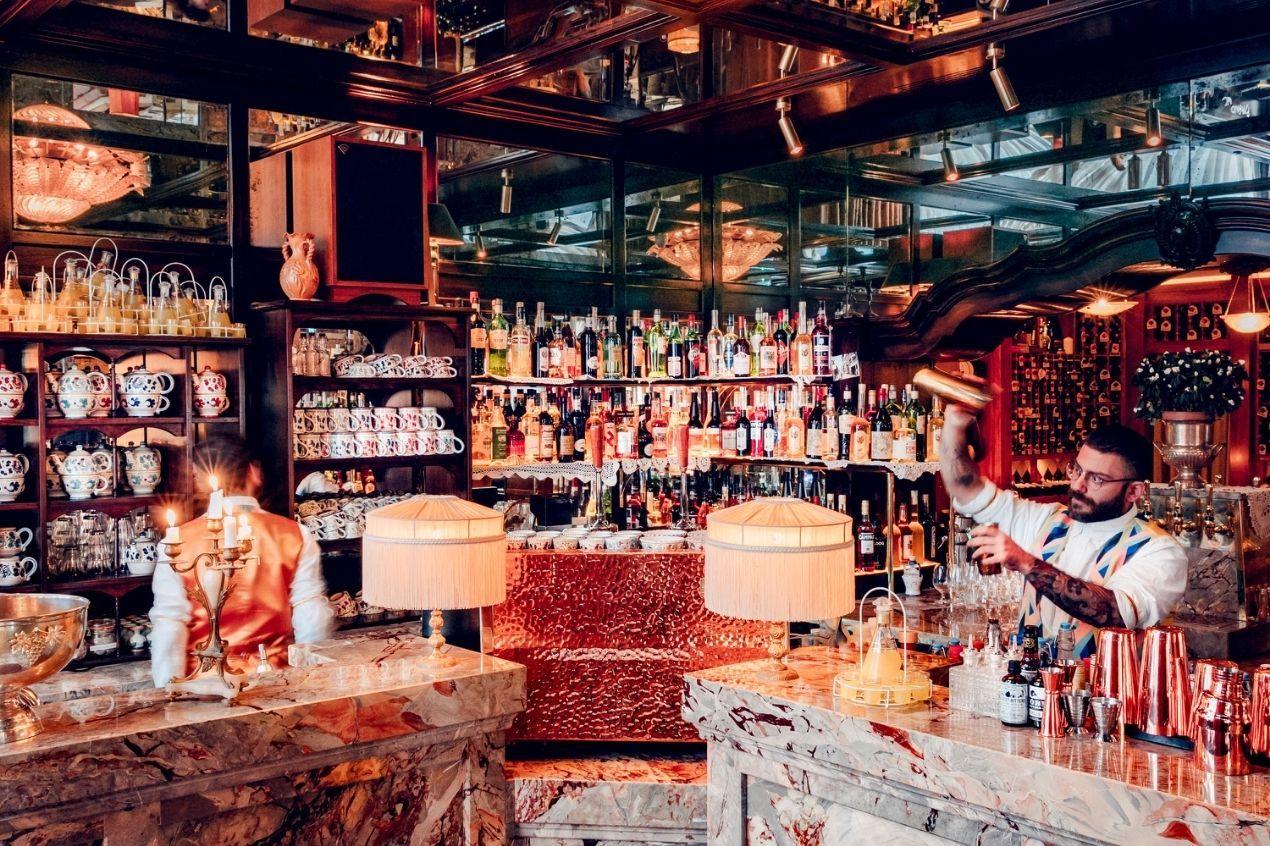 Photo for: The best restaurant bars in London