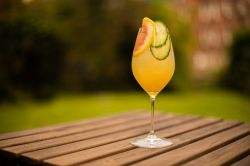 Photo for: Sunbathing with Filament Spritz Cocktail
