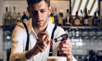 Photo for: Q + A with Michele Scalmana Bartender at The Cavalry & Guards Club