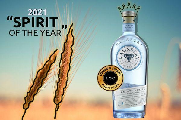 Photo for: UK's Ramsbury Single Estate Vodka is the Best Spirit of 2021