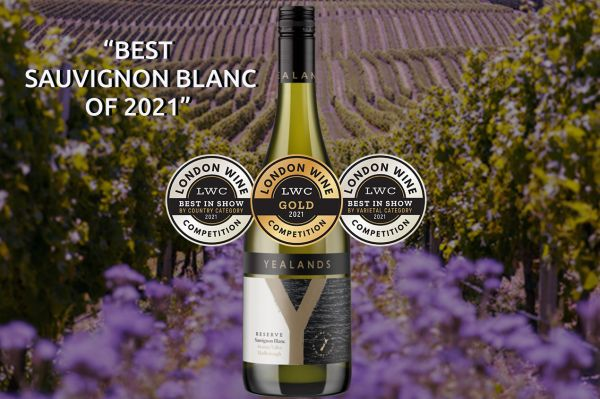 Photo for: Yealands Reserve is the Best Sauvignon Blanc in the World