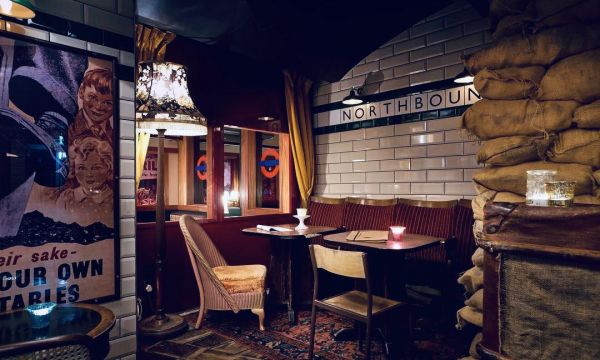 Photo for: Cahoots - Keep Calm And Carry On Drinking In This 1940's-Themed Underground Bar
