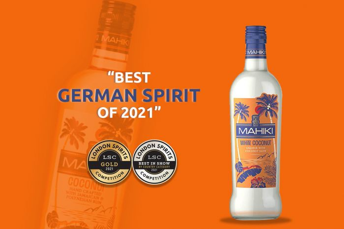 Photo for: Mahiki White Coconut is the Best German Spirit