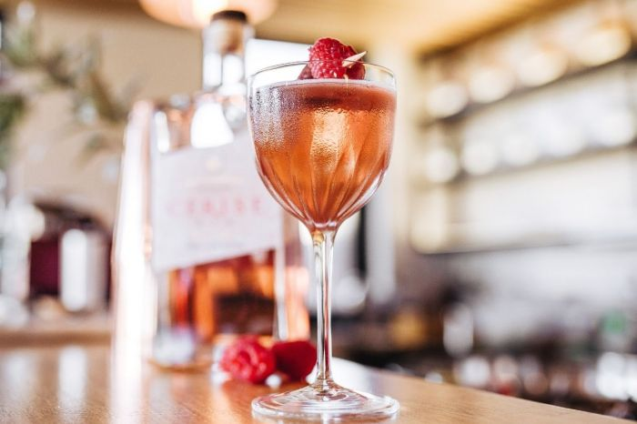 Photo for: The Cerise Martinez Cocktail