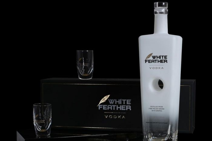 Photo for: K-40 Feather - from the original White Feather Vodka