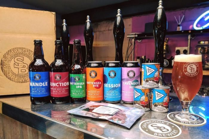 Photo for: Dive into London's Brewing Tradition with Sambrook's Brewery